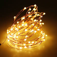 Us 4 01 30 Off 3aa Battery Powered 4m 40 Led Strip Copper Wire Christmas Lights Decoration Holiday Lighting With Battery Box Led String Light In Led