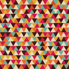 Retro Pattern Cool Retro Triangle Seamless Pattern Graphic Patterns Creative Market