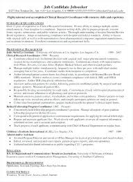 Clinical Research Coordinator Resume Sample Clinical Research Manager Sample Resume Podarki Co