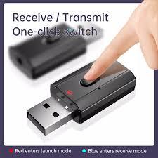 Bluetooth Dongle Adapter 5.0 Wireless Music Audio Transmitter ...