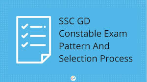 Ssc Gd Exam Pattern 2018 Detailed Ssc Gd Selection Process