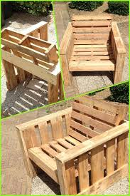 old pallet furniture. Self Made Chair, Completely From Old Pallets. Recycle Upcycle Reclaimed Wooden Garden Furniture DIY: Pallet