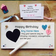 Birthday On Day Card Free Happy Birthday Cards With Name And Photo Online Ecards