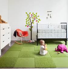 image of baby room rugs green