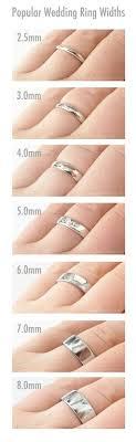 Wedding Rings Incredible Beauty Mens Wedding Ring Width Chart