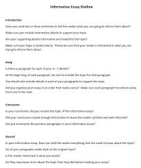 How To Write An Essay Outline Template And Examples
