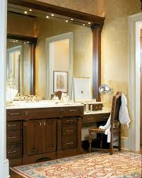 makeup vanities for with themed drawings and ilrations bathroom traditional and wall treatment