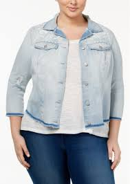 jessica simpson jessica simpson trendy plus size embroidered denim