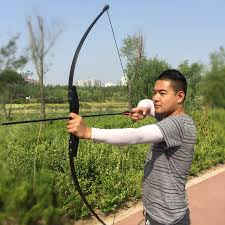 Professional 30/<b>40lbs Recurve Bow</b> for Right / Left Hand Wooden ...