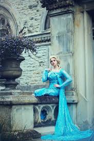 Bernadette Designer Elsa Frozen Bernadette Newberry Photographer Model Hair