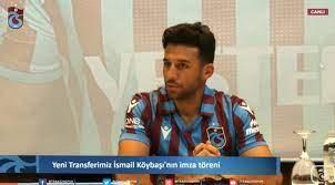 Trabzonspor'da İsmail Köybaşı'ya imza töreni düzenlendi