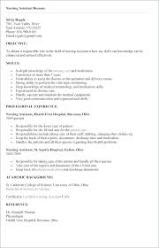 Cna Resume Examples Interesting Resume For Cna Examples Cna Resume Examples Skills Resume Tutorial