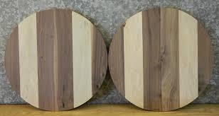 10466 black walnut and maple table top slabs 2 jpg