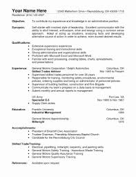 38 Cna Resume No Experience Pics Best Professional Inspiration