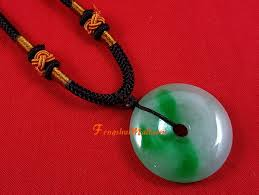 chinese jade coin pendant necklace