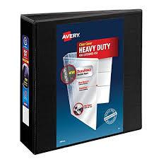 3in 3 Ring Binder Heavy Duty 3 Inch Binder Amazon Com