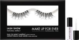 make up for ever lash show natural impact false lashes n 105 jpg