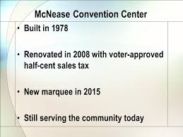 Mcnease Convention Center Seating Chart The Cost Of Doing Nothing A Local Example The Cost Of Doing
