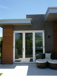 superior folding glass patio door bi fold patio glass door with varnished wooden frame combined