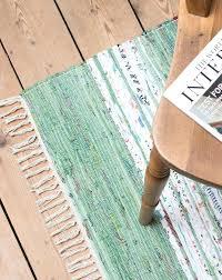 fresh rag rug runner for green and white rag rug and hallway runner from home of fresh rag rug runner
