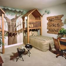 ... Decorating Winsome Cool Boys Bedrooms 2 Treehouse Like Room Cool  Bedrooms For Boys ...