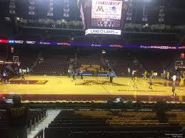 Williams Arena Minnesota Seating Chart Williams Arena Minnesota Section 116 Rateyourseats Com
