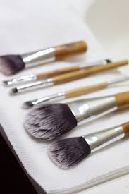 cleaning your brushes to dry
