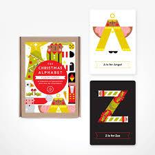 Alphabet Christmas Flash Cards