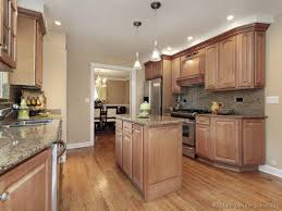 Wood Color Kitchen Cabinets Including Paint Ideas With Oak Gallery