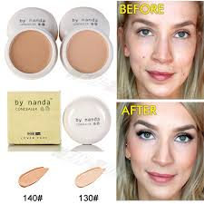 moisture smooth face concealer cream conceal red spots dark circles acne marks blemish cover makeup flawless creamy foundation in concealer from beauty