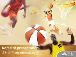 Basketball Powerpoint Template Basketball Sport Ppt Template 2 Ppt
