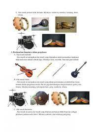 Alat musik ritmis ialah alat musik tidak bernada atau tidak memiliki nada yang tetap. Contoh Alat Musik Ritmis Melodis Harmonis Kami