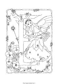 Kleurplaat Alfabet Fee 4151 Kleurplaten Clip Art Library