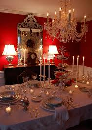 red and silver table decorations. Silver-Tiered Centerpiece For Christmas Red And Silver Table Decorations