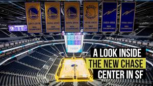 Chase Center Arena Seating Chart Video Inside The New Chase Center Home Of The Golden State