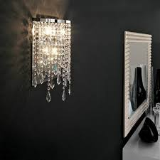 contemporary wall sconce lighting. Modern Crystal Wall Light Mirror Lights Contemporary Lamps Bathroom  Led Lamp LED Makeup Sconce Lighting L