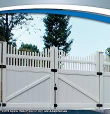 vinyl fence gate hardware. Vinyl Gates - Gate Hardware Superior Plastic Products Fence S