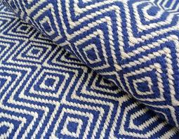 blue geometric rug for uk