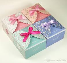 Decorating Boxes With Paper Small Broken Flower Green Cake Box Cake Decorations Wholesale 76