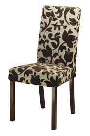 though in more cal dining rooms side chairs can be found at the head of the table side chairs can have upholstered seats but are generally not fully