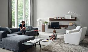 view in gallery combine twin armchairs with a plush sectional to complete your living room