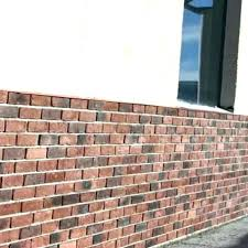 faux brick wall panel exterior stone rock panels paneling for walls menards