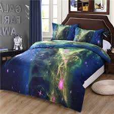 3d bedding set galaxy bed colorful moon and stars gorgeous within sun duvet cover decor 17