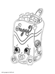 15 shopkins printable coloring pages for kids. Shopkins Coloring Pages Season 1 2 3 4 5 6 And 7