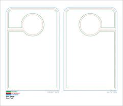door hangers templates. Free Door Hanger Template Hangers Templates N