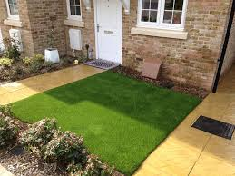 artificial grass front lawn. Simple Lawn Front Gardens Synthetic  And Artificial Grass Lawn S