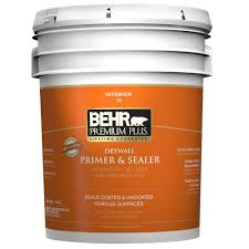 white interior drywall primer and sealer