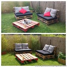 pallets outdoor furniture. Recycled Pallet Outdoor Furniture Pallets