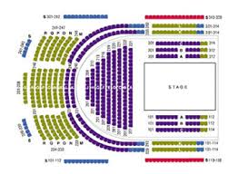 Benedum Center Seating Guide Clean Benedum Seating
