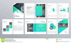 Brochure Templates For It Company Page Layout For Company Profile Annual Report And Brochure